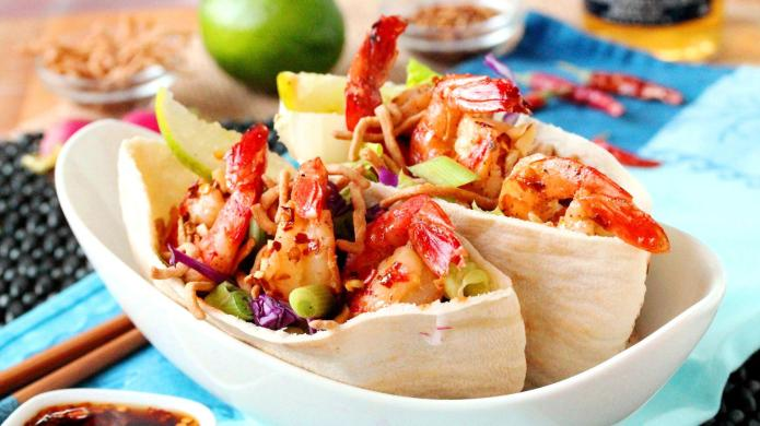 25-Minute sweet and spicy Thai shrimp