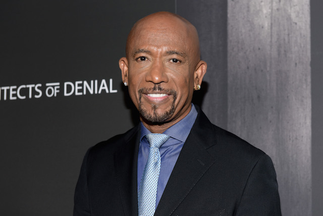 Montel Williams attends the premiere of 'Architects Of Denial' at Taglyan Complex