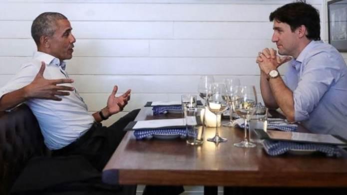 Barack Obama & Justin Trudeau Had