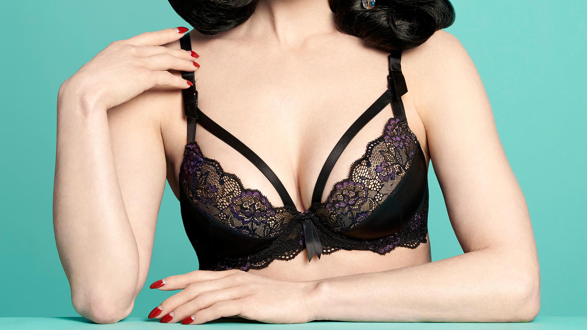 5cfbe7b026e98 Dita Von Teese proves maternity bras can be stone cold sexy – SheKnows
