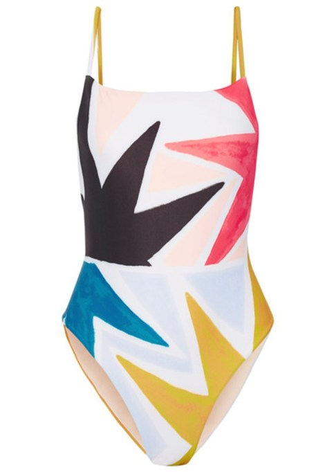 Best Unique Bathing Suits: Mara Hoffman Printed Swimsuit | 2017 Summer Swimsuits