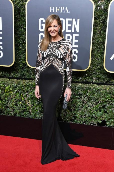 Best Golden Globes fashion 2018: Allison Janney