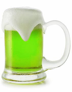 Green beer and other ways to