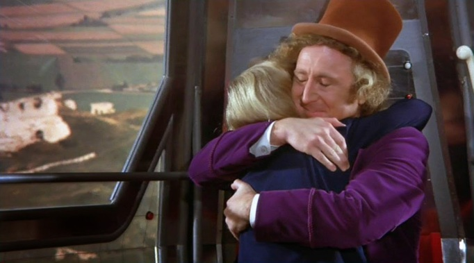 Gene Wilder as Willy Wonka in Willy Wonka and the Chocolate Factory