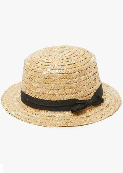 Best Sun Hats for Women: Straw Cady Hat | Summer Outfit Idea