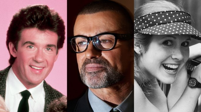Alan Thicke, George Michael, Carrie Fisher