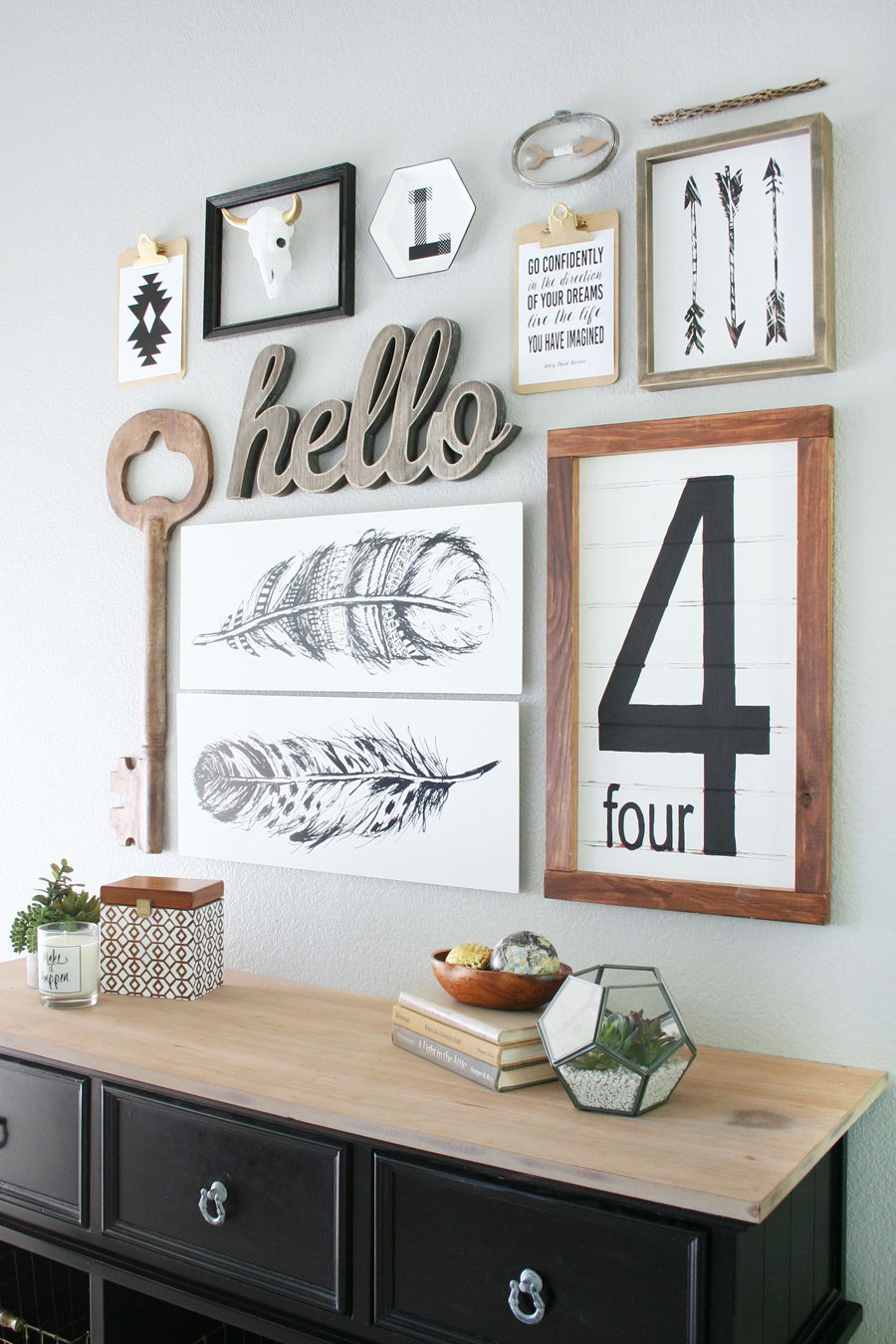 19 Tips For Creating A Gorgeous Black And White Gallery Wall Sheknows