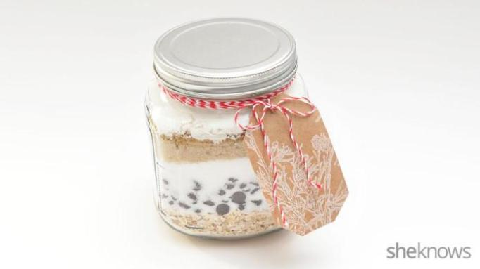 DIY Cookies in a Jar