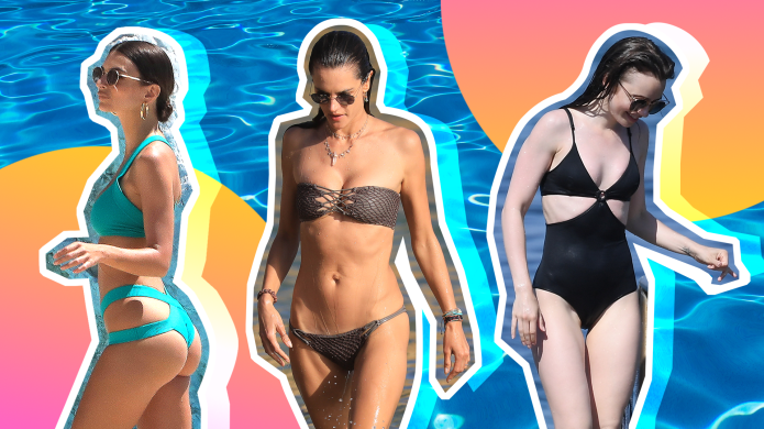Every Cute Celebrity Swimsuit We've Wanted