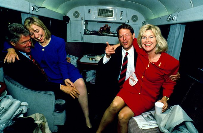 clintons-through-the-years-1992