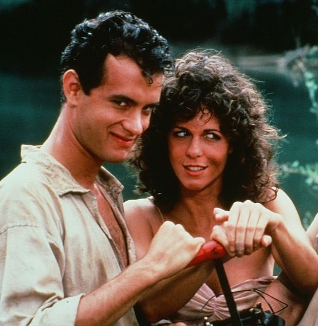 Still of Tom Hanks and Rita Wilson in 'Volunteers'