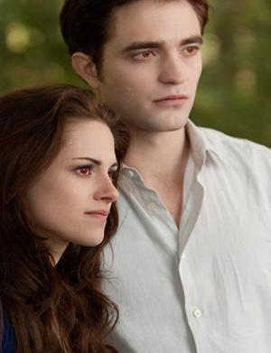 Kristen Stewart is Vampire Bella in
