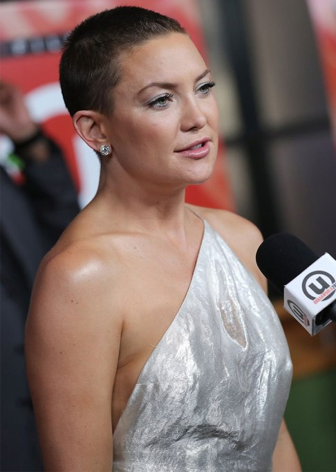 Kate Hudson Buzz Cut