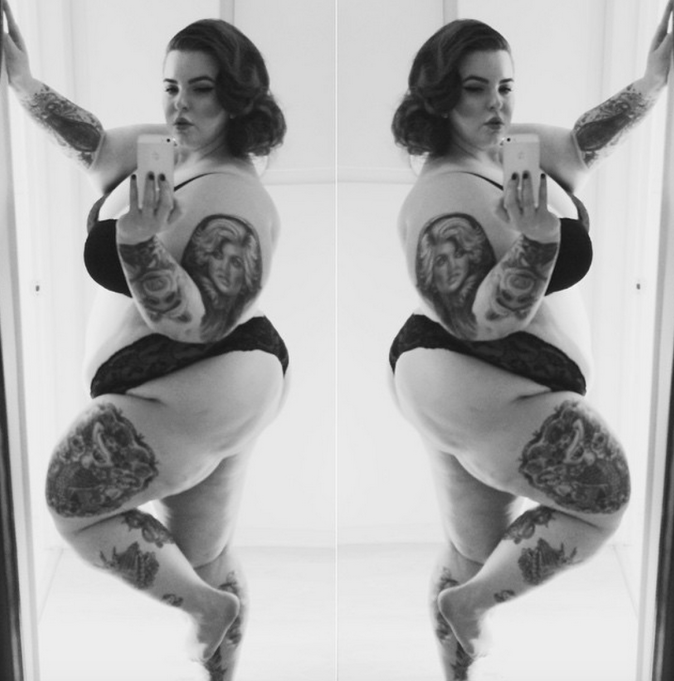 Tess Holliday lingerie