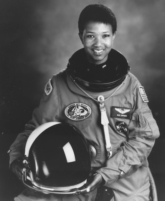 NASA photo of Mae Jemison