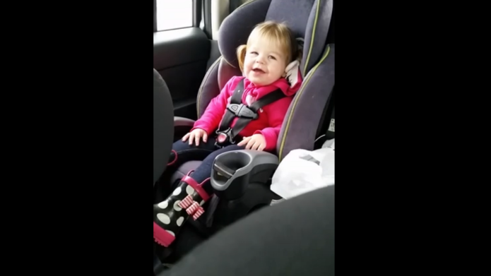 Toddler lip-syncs Taylor Swift, we go