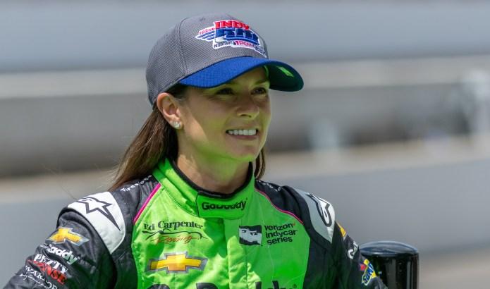Danica Patrick preparing for Indy 500