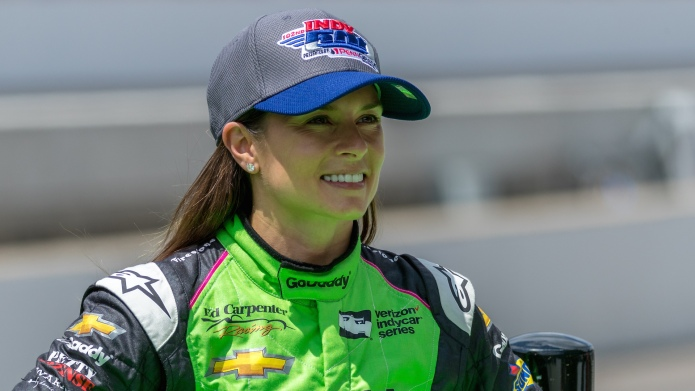 Danica Patrick preparing for Indy 500