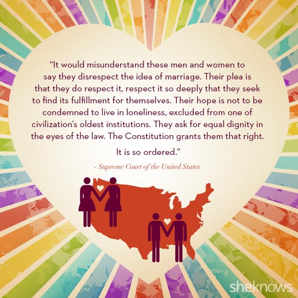 Supreme Court same-sex marriage quote