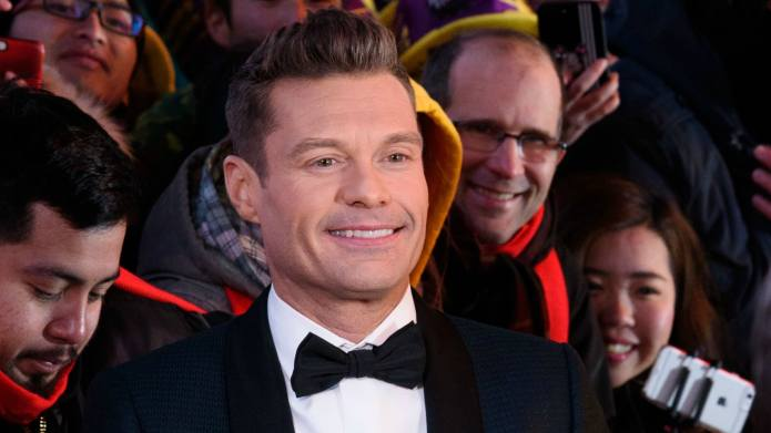 Ryan Seacrest documents his New Year's