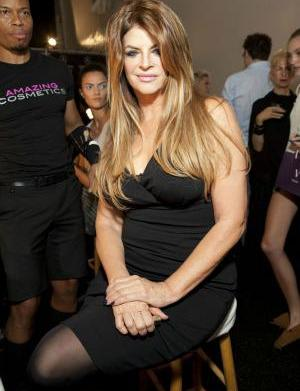 Is Kirstie Alley mad at Leah