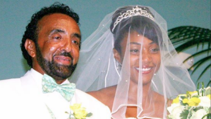 Tiffany Haddish with her father, Tsihaye Reda Haddish