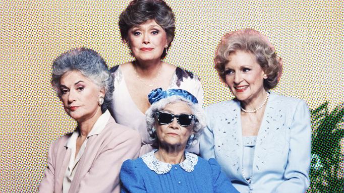 Cast of NBC's The Golden Girls