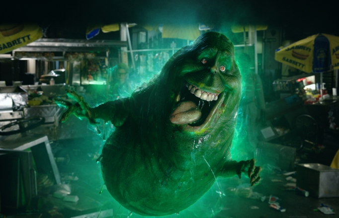 Slimer the ghost