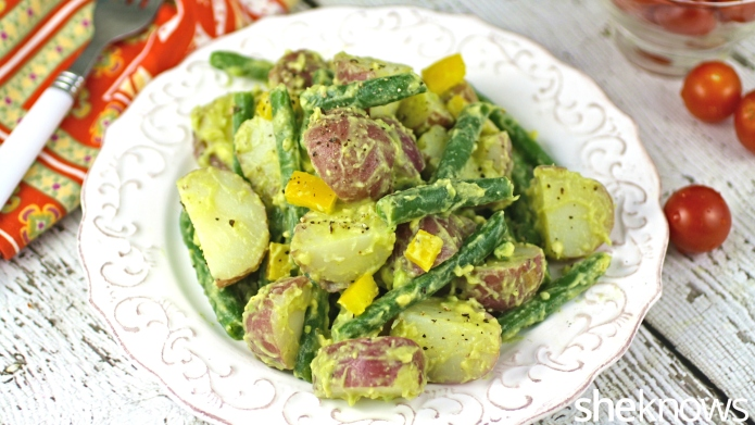 Meatless Monday: Vegan potato salad with