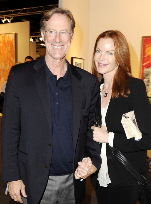 Tom Mahoney and Marcia Cross in 2012