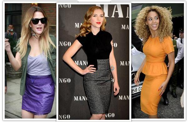Best skirts for hourglass body shapes