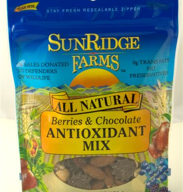 Eco-friendly trail mix that gives back
