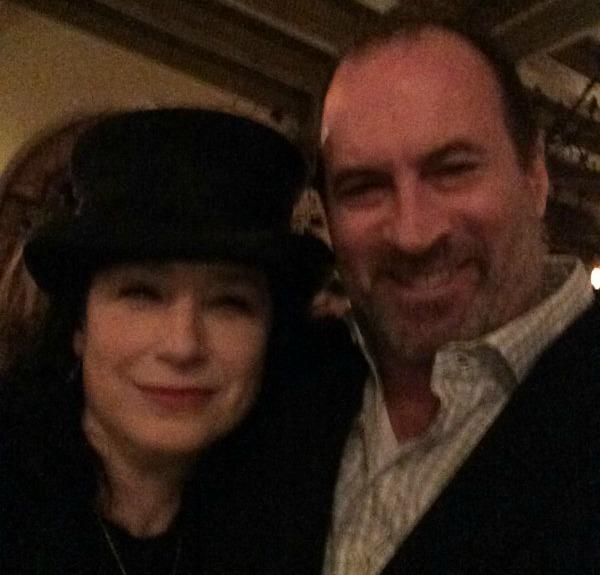 Amy Sherman-Palladino and Scott G. Patterson