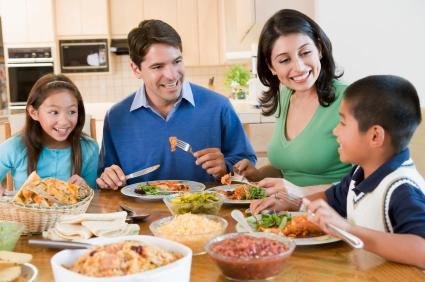 Teaching your kids about family values
