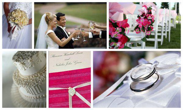 Make a wedding scrapbook