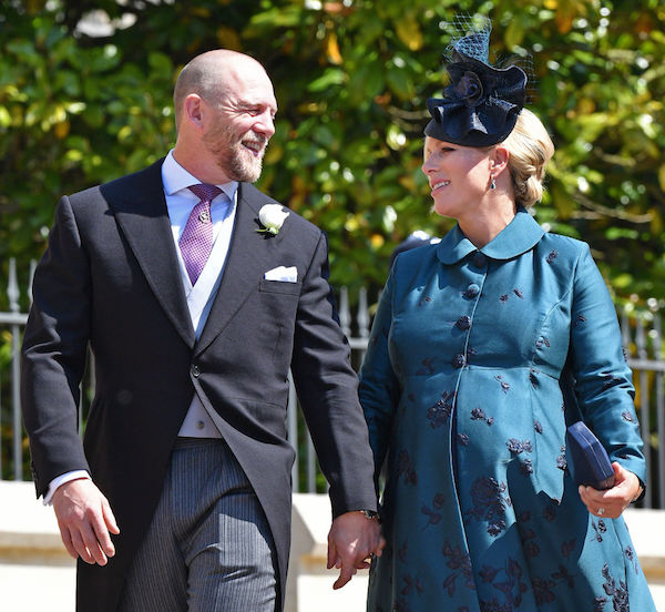 Celebrities having babies in 2018: Zara and Mike Tindall