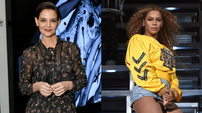 Katie Holmes Chills With Beyoncé &