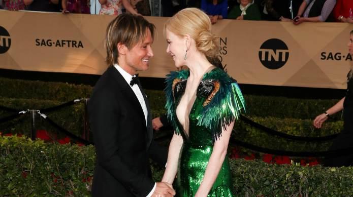 Nicole Kidman and Keith Urban Showed