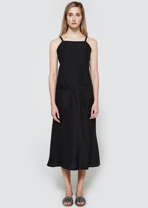 Black Summer Dresses To Live In This Season: MATIN Bias Cut Pocket Dress | Summer Style 2017