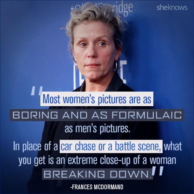 Frances McDormand quote
