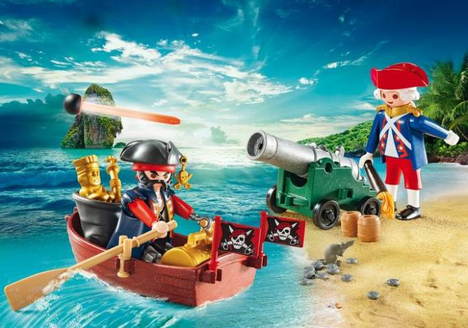 Pirate-Inspired Gifts For Your Littlest Mate: PLAYMOBIL Pirate Raider Carry Case