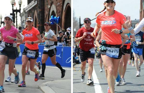 Boston Marathon Bombings: United in running