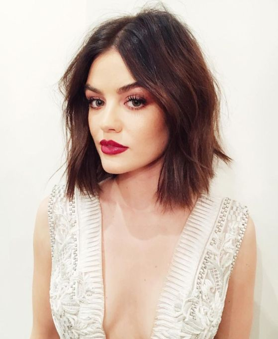 Celebrities With Seriously Cool Lobs | Lucy Hale