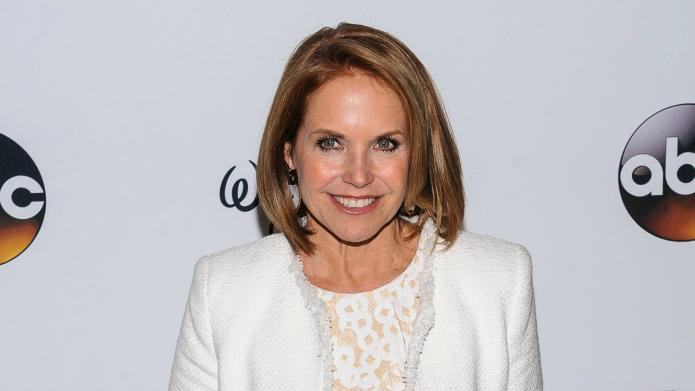Katie Couric weds at her home