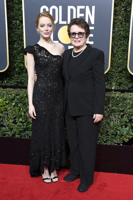 Best Golden Globes fashion 2018: Emma Stone