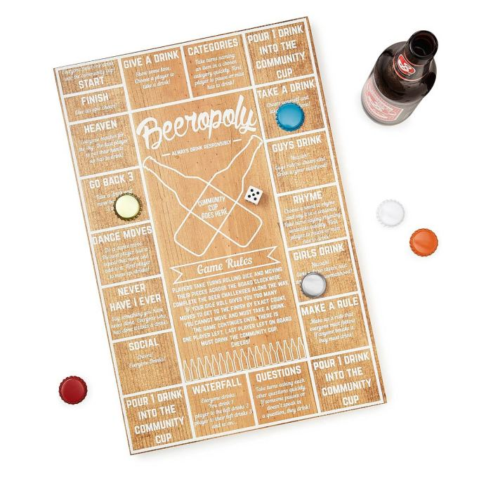 Valentine's Day Gifts for Husband: Beeropoly game