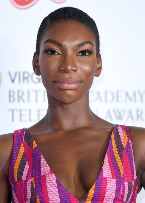 Best Natural Hair Red Carpet Moments of 2017 | Michaela Coel