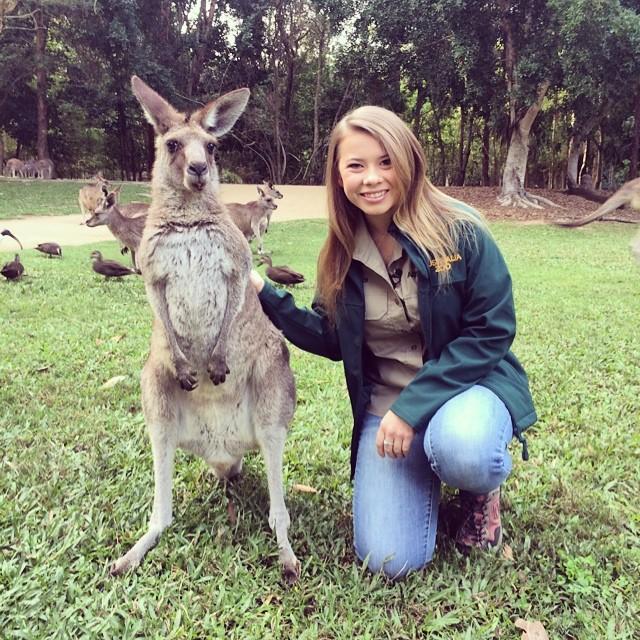 bindi-irwin-kangaroos