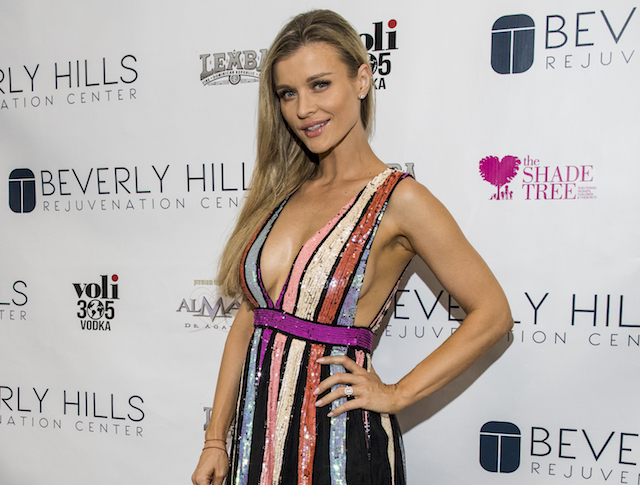 Joanna Krupa attends the grand opening of the Beverly Hills Rejuvenation Center benefiting The Shade Tree shelter