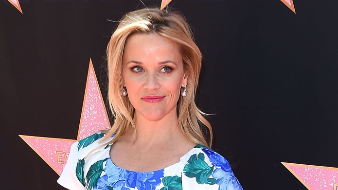 Reese Witherspoon at Eva Longoria's Star